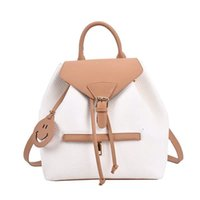 Ultra hot shoulder small women's bag summer 2021 trendy commuter travel backpack soft leather fashion small bag