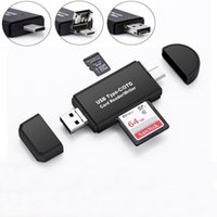 Memory Card Reader MINI USB 2.0 OTG Micro SD SDXC TF Card Reader Adapter Micro USB OTG to USB 2.0 Adapter for PC Laptop Computer 5 in 1