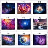 150 * 130 cm Increíble noche Starry Sky Star Tapices 3D Impreso Impreso Picture Picture Bohemian Beach Toalla Mantas manteles RRA4138