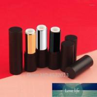 10 / 30 / 50pcs 블랙 실버 골드 라운드 빈 12.1mm 립스틱 튜브 립 컨테이너 립스틱 쉘 포장 화장품 Refillable1