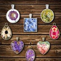 31pcs / conjunto Tempo Gem Secado Flor Sile Molde para Jóias Charms Pingentes Fazendo ferramenta Cristal Handmade Epoxy Glitter Res Jllyus