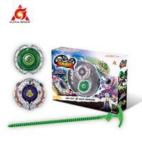 Giroscópio Infinito Nado 3 Stunt Set Brinquedo Combinação Transformando Split Arena Lançador Spinning Top Battle Set Kids Brinquedos Beyblade Toy 210304