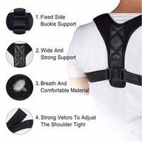 Men's Body Shapers Adjustable Back Posture Corrector Clavicle Support Belt Slouching Corrective Brace Correction Bodysuits Shaper