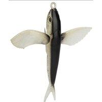 23 см 140G синий / черный летающий рыб-9-дюймовый летающий рыба рыбалка приманка мягкая бытовая приманка морская вода Fishi Jllbyf Sport777