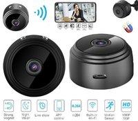 A9 1080 P Full HD Mini Spy Video Kam WiFi IP Kablosuz Güvenlik Gizli Kameralar Kapalı Ev Gözetim Gece Görüş Küçük Kamera DHL Ücretsiz