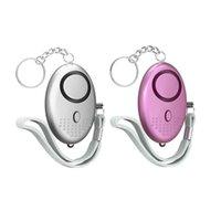 130db forma de huevo autodefensa alarma mujer seguridad proteger alerta de seguridad personal seguridad fuerte llavero alarma gga4230