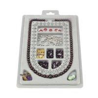 DIY Halskette Tablett Design Handgemachte Halsketten, die Schmuckwerkzeuge Handwerk Geschenke Organizer Messpartment Fach Perlen Perlen