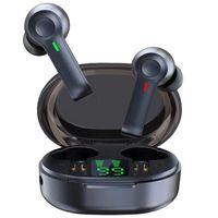 & MP4 Players R22 Wireless Earbuds TWS 5.1 Bluetooth Earphone Headset Led Display Waterproof 40 Hours HiFi Premium Sound Noise