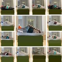 Mujeres y hombres Zapatillas de deporte de la zapatilla de deporte Diseñadores de lujos zapatos casuales para mujer More Color Platform Trainers zapatillas de deporte con caja 35-45