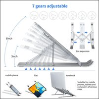 Tablet Pc Aessories Computers & Networkingadjustable Laptop Stand Foldable Support Base Notebook Stands Holder For Book Pro Air Lapdesk Comp