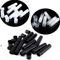 Yeni5g Kozmetik Boş Chapstick Dudak Parlatıcısı Ruj Balsamı Tüp Ve Kapaklar Konteyner Siyah Beyaz Temizle Renk EWF1227