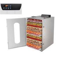 20layers Fruit Dryer Commercial Food Dehydrators Dried Fruit Machine Household Vegetable Soluble Bean Fruit Tea Dryer