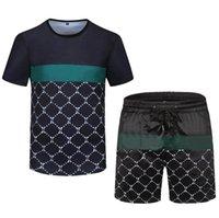 21SS Designer da uomo Designer da jogging Tracksuits Fashion Sportswear Abito da uomo Abito da uomo Estate Estate Indossare T-shirt a maniche corte Sport a maniche corte