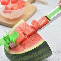 أدوات القاطع البطيخ المقاوم للصدأ سكين سكين مركز طاحونة شكل البلاستيك القطاعة لقطع الطاقة حفظ الفاكهة الخضروات