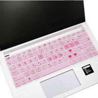 여러 가지 빛깔의 실리콘 소프트 보호 방수 필름 노트북 컴퓨터 오목 볼록 방진 키보드 스티커