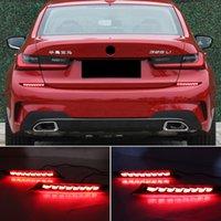 2PCS For BMW G20 G28 330i 340i M340d Auto LED Bumper Light Rear Fog Lamp Brake Light Dynamic Turn Signal Reflector