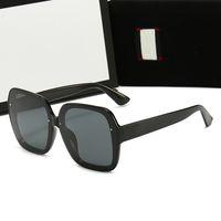 Square Okulary Okulary Kobiety 2021 Vintage Marka Oversize Damskie Okulary przeciwsłoneczne Czarne Męskie