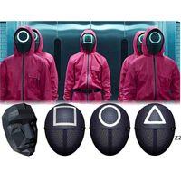 Fidget Toys Sensory HalloweensQuid Jeu Movie Périphérique Périphérique Masque Masque Plastique de haute qualité Enfants Adultes Toy HWB11030