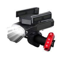 Bike Lights Front and Back with USB Rechargeable , Waterproof, Lightweight, Durable Bike Lights for Night Riding