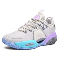 Basketball shoes shock-absorbing star with the same paragraph comfortable, lightweight and wear-resistant student wear-resistant boots super nice