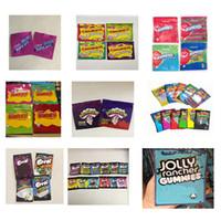 Yenilebilir Gummies Çanta Weedtarts Starburst Warheads Errlli Trolli Trrlli Jolly Rancher Mylar Çantası için Jummies Airheads Cannavurst