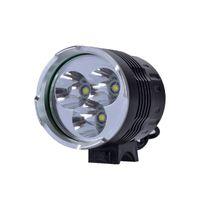 4000 Lumens 3x XM-L T6 LED Farol 3T6 Farol Bicicleta Bicicleta Luz impermeável + 6400mAh Bateria Frete Grátis 408 Y2