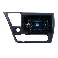 Lecteur multimédia de voiture GPS Android 2DIN pour 2014-2017 HONDA CIVIC Radio Bluetooth DVR Autoradio