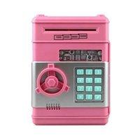 Электронная копилка банкомата пароль пароль денег денежные монеты, сохранение банкомата Bank Safe Box Auto Paper Paper Paper Banknote подарок для детей 57 S2