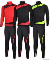 Осенние Winternemen с длинным рукавом футбол футбол для футбольных изделий Постоянные футбольные штаны спортивный костюм