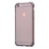 아이폰 6 6S 7 8 플러스 TPU PC 실리콘 클리어 소프트 폰 커버 아이폰 8 X 케이스 회색 핑크 코크에 대한 투명한 Shockproof 사례