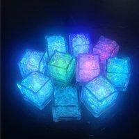 LED أضواء حزب اللون تغيير مكعبات الثلج الصمام متوهجة مكعبات الثلج وامض وامض الجدة حزب العرض