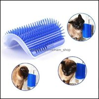 Toys Supplies Home & Gardencorner Pet Brush Comb Play Toy Plastic Scratch Bristles Arch Masr Self Grooming Cat Scratcher Drop Delivery 2021