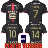 Rennes Player الإصدار 20 21 MALLOTS Stade Rennais FC Soccer Jerseys 120th Anniversary Doku Bourigeaud Guirassy 2021 قمصان كرة القدم الخاصة