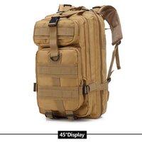 3P Plecak March Outdoor Tactical Plecak Ramiona Bag Kemping Rifle Trekking Sport Podróż Plecaki Cl Kolor