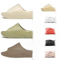 Corredor de espuma Clogar Sandalias Triple Negro Blanco Zapatillas de moda para mujer Hombre Playa Flip Flops 36-45 con caja