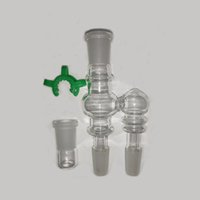 Dropdown Reclaim Catcher 14mm joint Smoking Accesories for Hookahs and Water Bongs Drop Down Adapter