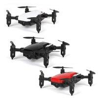 Mini LF606 Katlanabilir WiFi FPV 2.4 GHz 6-Axis RC Quadcopter Drone Helikopter Oyuncak Kolay Ayarla Frekans Bırak Gemi
