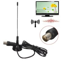 Indoor Digital DVB-T TV Antenna Freeview HDTV Aerial For Box 1.5m Cable