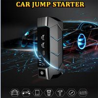 20000mAh Car Jump Starter Portable USB Battery Booster Charger Power Bank Auto Multifunction Emergency Starting Device with LED light and Safety Hammer COMPASS