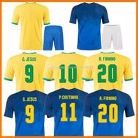 2021 Richarlison G.jesus Футбол трикотажные изделия CamiSeta Copa Copa Copa Finals 2020-21 Версия игрока CUTINHO SIPPILINO Бразилии Marquinhos Casemiro Brasil Футбольная футболка