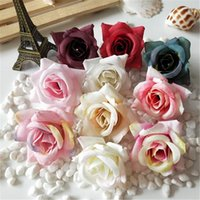 Decorative Flowers & Wreaths 10 30pcs Artificial Small Rose Head DIY Gift Box Scrapbooking Crafts Wedding Decoration Bridal Accessories Clea