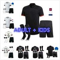 Kids Kid Kids 2021 2022 ألمانيا كرة القدم جيرسي 21 22 الرئيسية Kimmich Hummels كروس Draxler Reus Muller Gotze Football Shirts