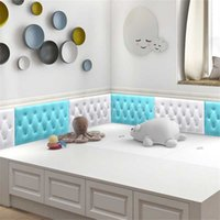 Wall Stickers 3d Wallpaper Self-adhesive Thick Tatami Anti-collision Mat Children's Bedroom Living Room Foam Household