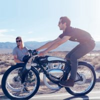 Retro Munro2.0 Ebike Style Powerful Electric Motorcycle Scooter Munro 3.0 with Pedal Assist Electrical Bicycle Cruiser E-bike