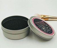 Yeni Makyaj Fırça Temizleme Yıkama Artefakt Kuru Sünger Renk Değişim Temizleyici Mat Yıkama El Pad Sucker Scrubber Kurulu Kozmetik Temiz