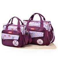 أكياس حفاضات حروف الطفل حمل حقيبة للأمهات الحفاض الأمومة الأم التخزين منظم تغيير النقل الرعاية