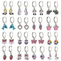 Animal Oil Earrings Fashion New Women's Set Ear Buckle