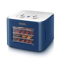 Elektrikli Fırınlar 4. Kat Dehidratör Kurutulmuş Meyve Makinası Kurutucu Ekmek Işçisi Fırın Ev Küçük Pet Snacks Meyve ve Sebze