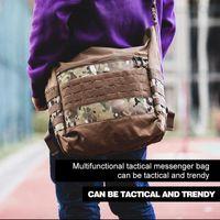 Borse a vita PaveHawk Tactical Grande Capacità Outdoor Messenger Bag Viaggio Alpinismo Portafoglio Boy Camouflage Duffle Zaino
