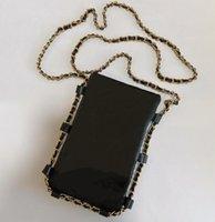 파리 여성 브랜드 휴대 전화 가방 탑 패션 메신저 가방 디자이너 제로 지갑 Womens 클러치 지갑 레이디 골드 체인 핸드백